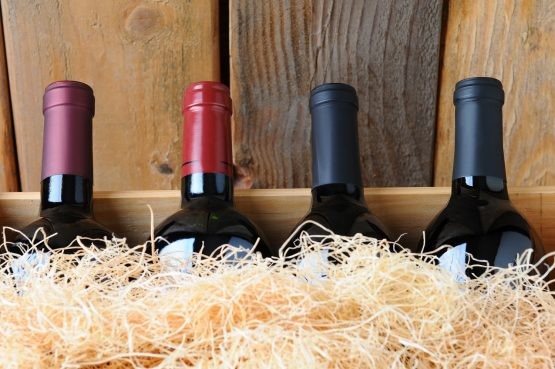 Wine Bottles From Antler Ridge Winery